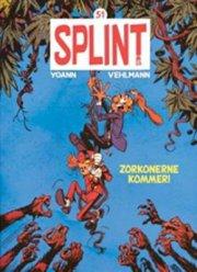 splint & co. 51: zorkonerne kommer! - bog