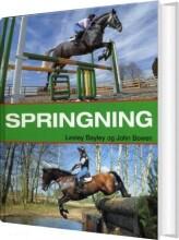 springning - bog
