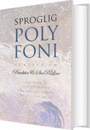 sproglig polyfoni - bog