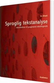 sproglig tekstanalyse - bog