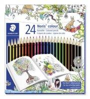 staedtler - noris colour - johanna basford udgave, 24stk - Kreativitet