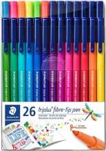staedtler - triplus brilliant colour, 26 tusser - Kreativitet