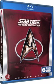 star trek - the next generation - sæson 1 - Blu-Ray