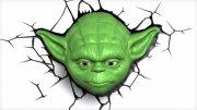 star wars yoda væglampe / natlampe - 3d - Til Boligen