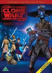 star wars - clone wars - sæson 2 - volume 1 - DVD