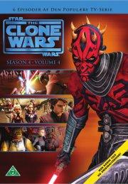 star wars - clone wars - sæson 4 - volume 4 - DVD