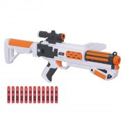 nerf gun / gevær - star wars - villain trooper white blaster ii - Legetøjsvåben