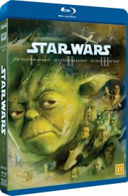 star wars blu-ray box - de nye film - episode 1, 2, 3 - Blu-Ray