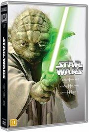 star wars dvd box - de nye film - episode 1, 2, 3 - DVD