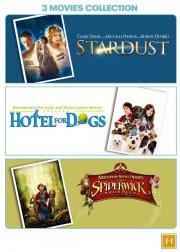 stardust // hundehotellet // spiderwick fortællingerne - DVD