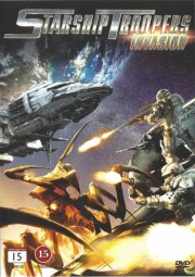 starship troopers - invasion - DVD