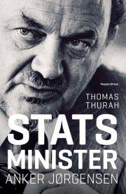 statsminister anker jørgensen - bog