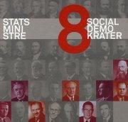 statsministre - 8 socialdemokrater - bog