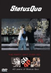 status quo - the party aint over yet - DVD