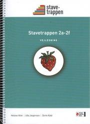 stavetrappen 2a - 2f, vejledning - bog