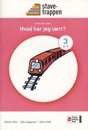 stavetrappen 3a - 3h, hvad har jeg lært - bog