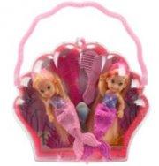 steffi love - havfrue tvillinger 7 cm - Dukker