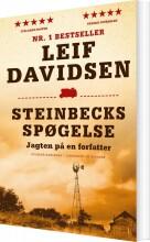 steinbecks spøgelse - jagten på en forfatter - bog