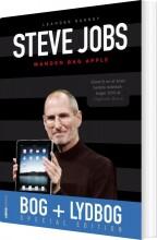 steve jobs - manden bag apple. +  - bog