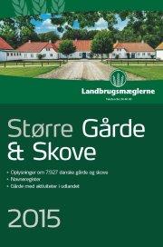 større gårde & skove 2015 - bog
