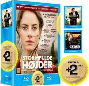 stormfulde højder / the burma conspiracy / crash - Blu-Ray