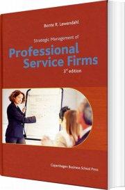 strategic management of professional service firms - bog