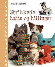 strikkede katte og killinger - bog