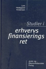 studier i erhvervsfinansieringsret - bog