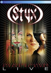 styx - grand illusion & pieces of eight - live - DVD