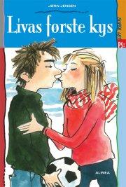 super let ps, livas første kys - bog