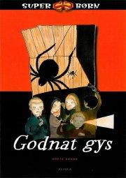superbørn, godnat gys - bog