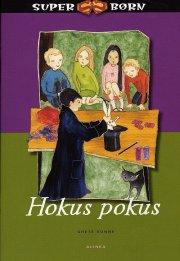 superbørn, hokus pokus - bog