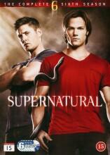 supernatural - sæson 6 - DVD