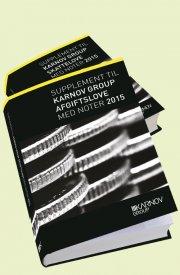 supplement til karnov group skatte- og afgiftslove 2015 - bog