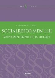 supplement til socialreformen i-iii - bog