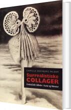 surrealistiske collager - bog