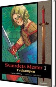 sværdets mester 1 - tvekampen - bog