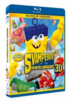 svampebob: en rigtig landkrabbe - 3d - Blu-Ray