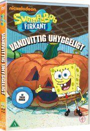 svampebob firkant - vandvittig uhyggeligt - DVD