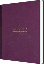 sven-ingvar andersson - bog