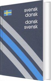 svensk-dansk/dansk-svensk ordbog - bog
