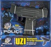 swat unit police electronic uzi (42190) - Legetøjsvåben