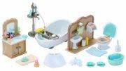 sylvanian families - badeværelse - Dukker