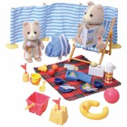 sylvanian families - strandturssæt - Dukker