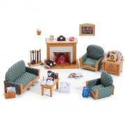 sylvanian families - luksus stuemøbler - Dukker