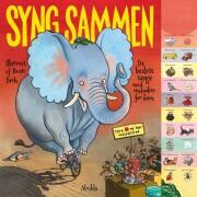 syng sammen - de bedste sange med melodier for børn - bog