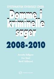 systematisk oversigt over domme i kriminelle sager 2008-2010 - bog