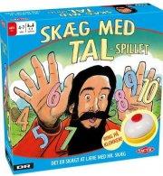hr. skæg - skæg med tal - regnespil - Brætspil