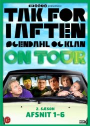 tak for i aften - øgendahl og klan on tour - sæson 2 - episode 1-6 - DVD