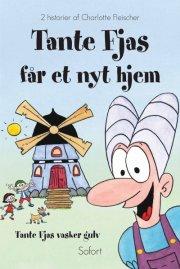 tante fjas får et nyt hjem - tante fjas vasker gulv - bog